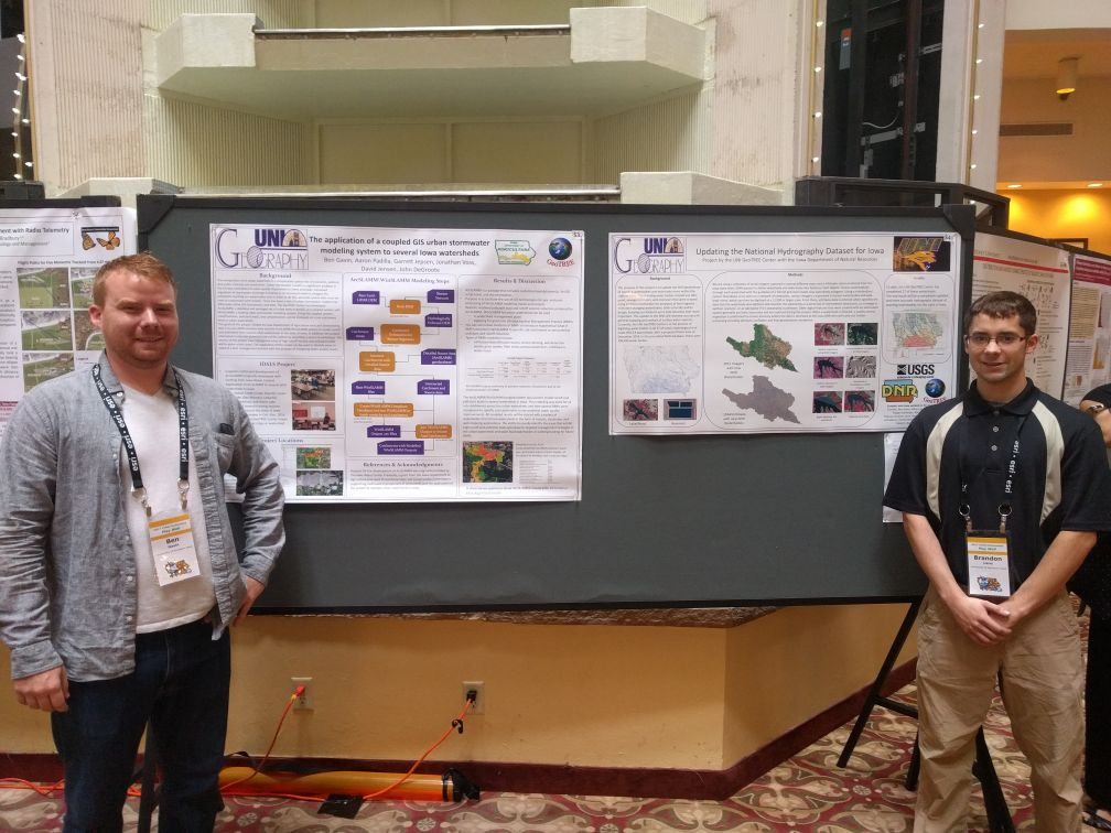 GeoTREE Student Posters ITAG 2017 Conference